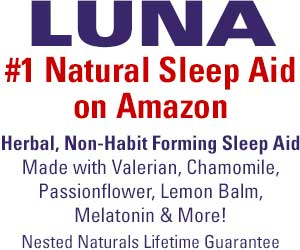 LUNA - #1 Natural Sleep Aid on Amazon - Herbal, Non-Habit Forming Sleep Aid