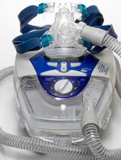 CPAP Machine with Sleep Apnea Mask