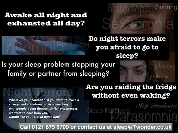 7 Wonder Productions, Channel 4 Documentary about Sleep Disorders